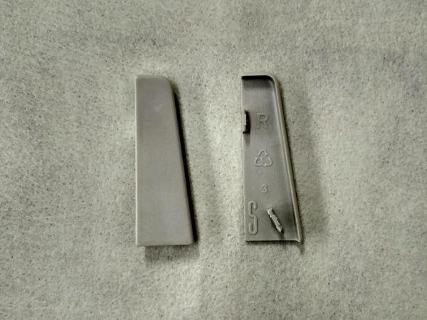 Equipped 1263 Endkappe Grau 58mm